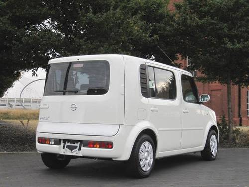 2004 NISSAN CUBE CUBIC 7 SEATS 1.4 AUTOMATIC * PEARL WHITE For Sale (picture 2 of 6)