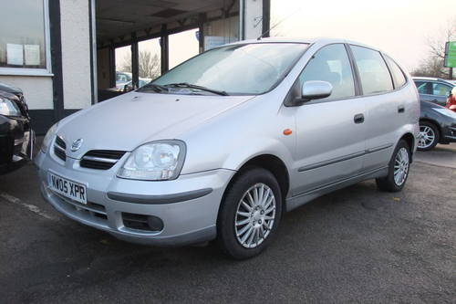 2005 NISSAN ALMERA 1.8 TINO S 5DR AUTOMATIC SOLD (picture 1 of 5)