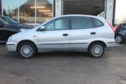 2005 NISSAN ALMERA 1.8 TINO S 5DR AUTOMATIC SOLD (picture 2 of 5)
