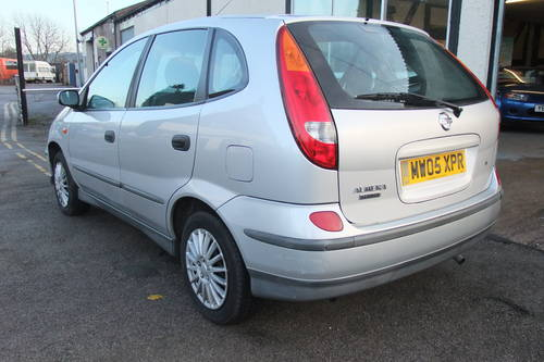 2005 NISSAN ALMERA 1.8 TINO S 5DR AUTOMATIC SOLD (picture 3 of 5)