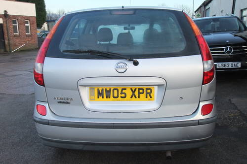 2005 NISSAN ALMERA 1.8 TINO S 5DR AUTOMATIC SOLD (picture 5 of 5)