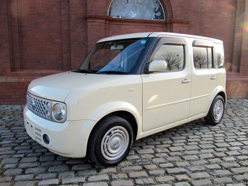 2006 NISSAN CUBE CONRAN 1.5 AUTOMATIC * IRISH CREAM & CHOCOLATE SOLD (picture 2 of 6)