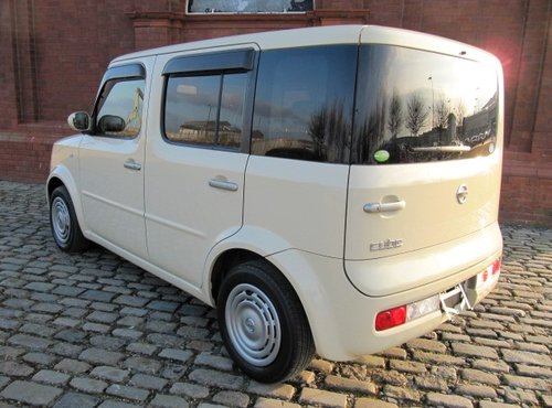 2006 NISSAN CUBE CONRAN 1.5 AUTOMATIC * IRISH CREAM & CHOCOLATE SOLD (picture 3 of 6)