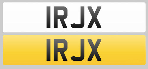 1998 Registration Plate 1RJX for sale For Sale (picture 1 of 1)
