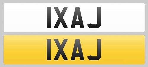 1998 Registration Plate 1XAJ for sale For Sale (picture 1 of 1)