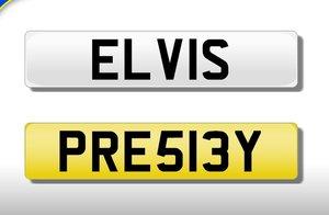 King Of Rock n Roll Elvis Presley number plate For Sale