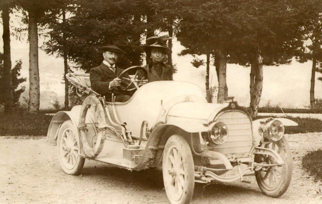 1908 Zedel 4 cilinder car SOLD (picture 1 of 6)