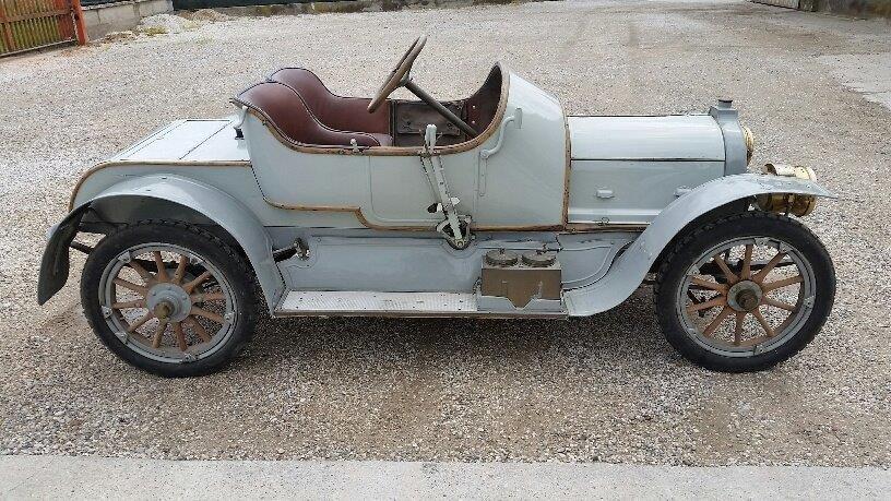 1908 Zedel 4 cilinder car SOLD (picture 2 of 6)