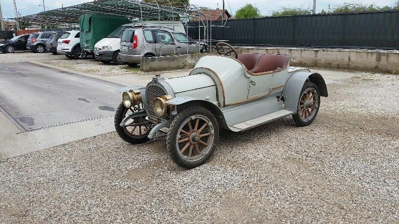 1908 Zedel 4 cilinder car SOLD (picture 3 of 6)