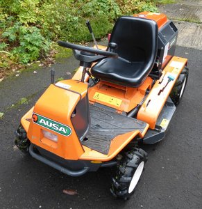 Ausa / Canycom ride on brush cutter mower