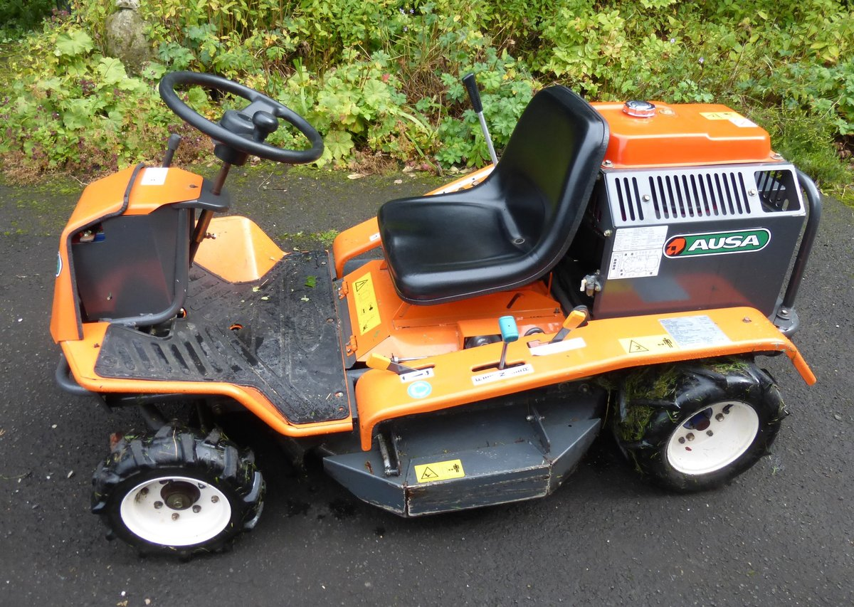 0000 Ausa / Canycom ride on brush cutter mower For Sale (picture 2 of 6)