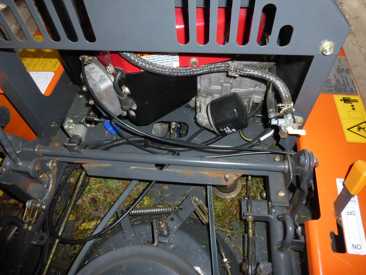 0000 Ausa / Canycom ride on brush cutter mower For Sale (picture 6 of 6)