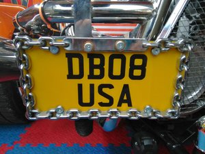 Bob usa number plate db08 usa on retention doctor  For Sale