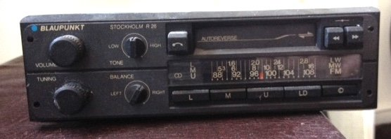 80s car radio For Sale
