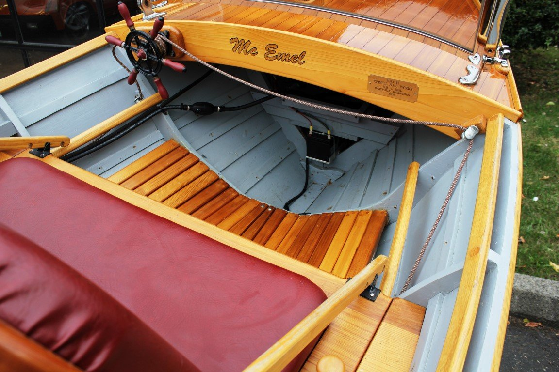 1928 Reinell Wooden Runabout - Lot 619 For Sale by Auction (picture 5 of 6)