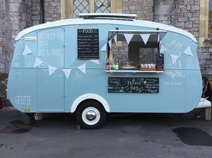 1960 Vintage Catering Caravan For Sale