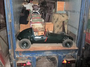 1950's child's petrol engined racing car For Sale