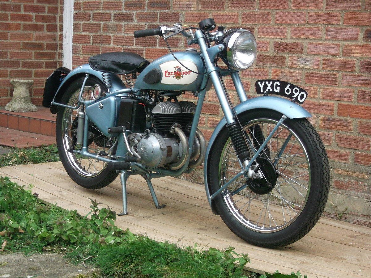 1950 Excelsior 250 Tailsman SOLD (picture 1 of 1)