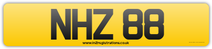 NHZ 88 Dateless Cherished Registration