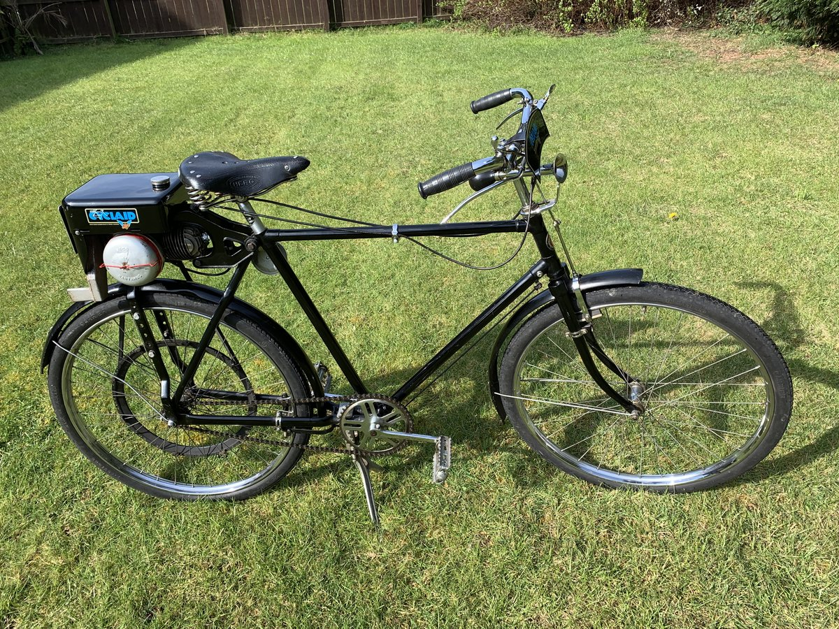 1959 Lovely 31cc Cyclaid in Hercules Frame For Sale (picture 1 of 5)