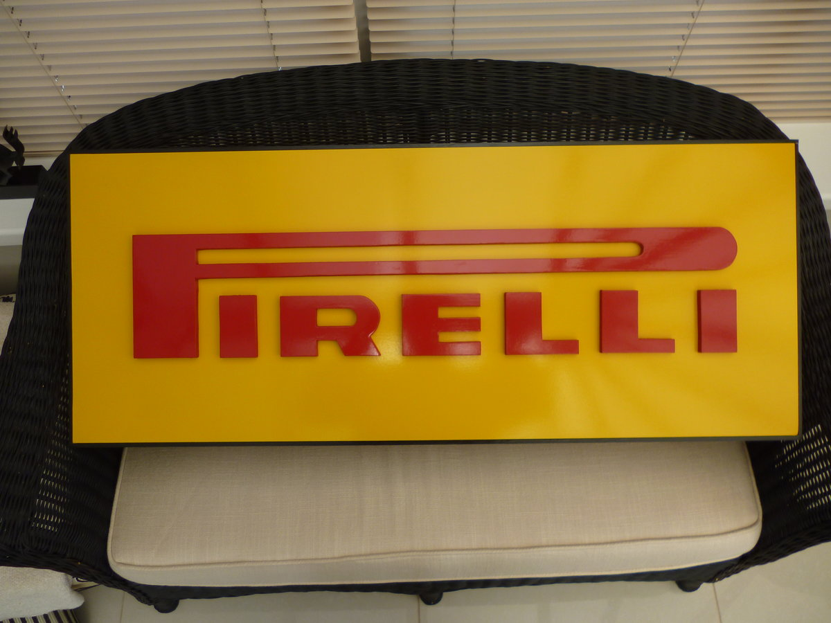 Pirelli 3D Sign For Sale (picture 1 of 2)