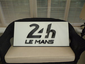 24hr Le Mans Sign