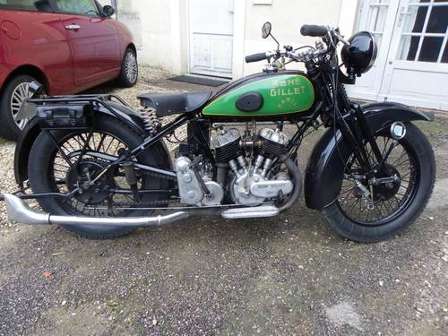 1931 Rene Gillet G1 750cc V twin For Sale (picture 1 of 6)