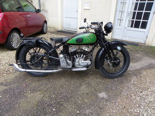 1931 Rene Gillet G1 750cc V twin For Sale (picture 2 of 6)