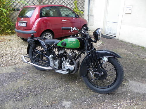 1931 Rene Gillet G1 750cc V twin For Sale (picture 3 of 6)
