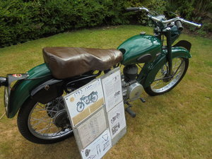Norman 125cc very rare bike