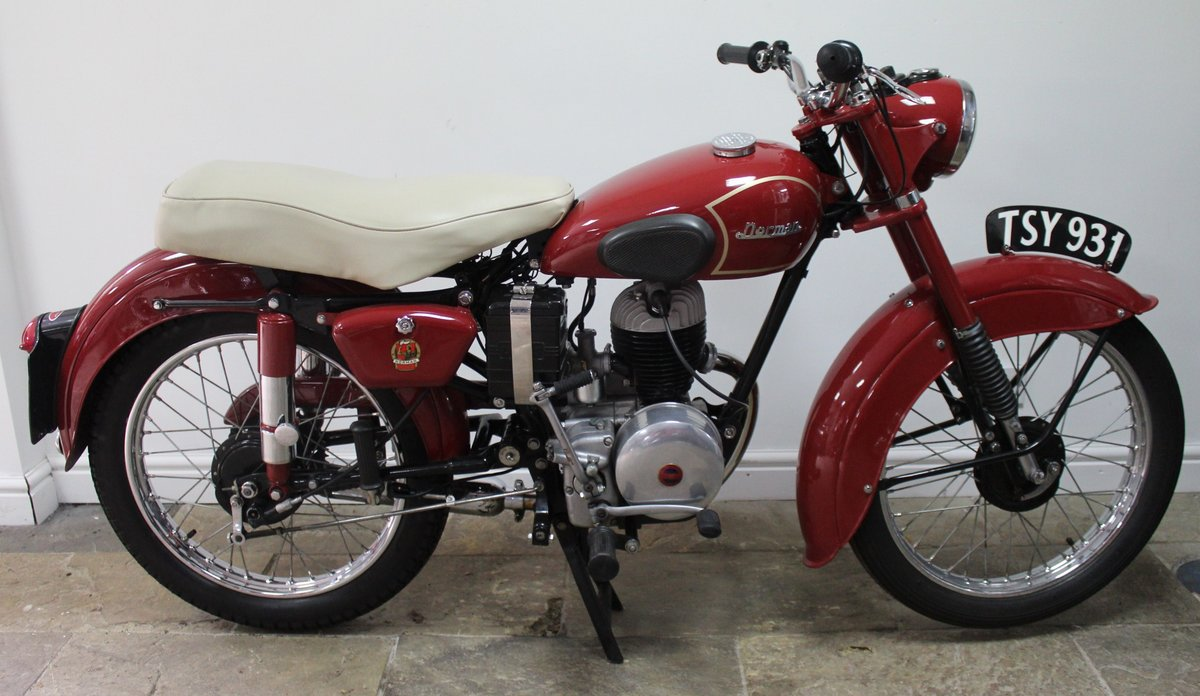 1954 Norman B2S Deluxe 197 cc Villiers Powered For Sale (picture 1 of 6)