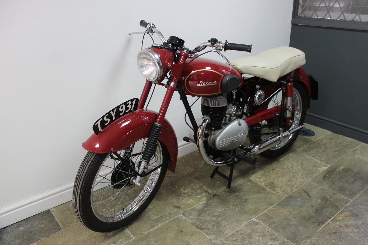 1954 Norman B2S Deluxe 197 cc Villiers Powered For Sale (picture 4 of 6)
