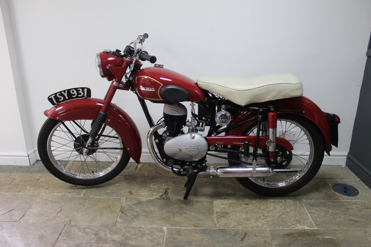 1954 Norman B2S Deluxe 197 cc Villiers Powered For Sale (picture 5 of 6)