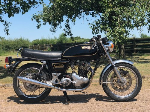 Norton Commando 850 MKIII 1976 Electric Start SOLD (picture 3 of 6)