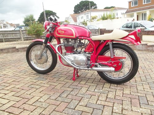 1971 NORTON TRITON 850CC 'THE RED DEVIL'  one test mile only SOLD (picture 1 of 6)