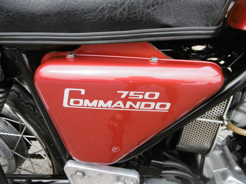 1973 Norton Commando 750 Restored Full matching numbers . SOLD (picture 6 of 6)