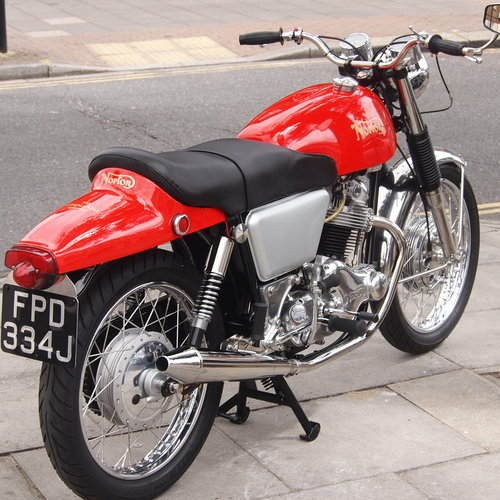 1971 750 Commando Fastback, RESEVED FOR KARL. SOLD (picture 5 of 6)