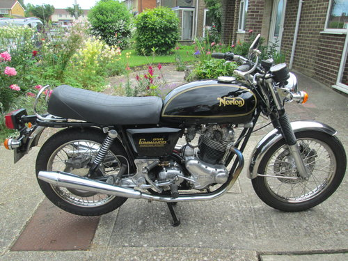 1978 Norton Commando 850 electric start SOLD (picture 6 of 6)