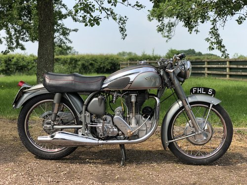 1953 500cc Norton International Clubman TT  SOLD (picture 1 of 6)