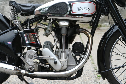 Norton International M30 500cc OHC 1948 For Sale (picture 2 of 6)