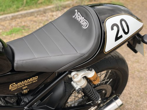 2017 Norton Commando 961 Cafe Racer JPS Special PX Classic SOLD (picture 6 of 6)
