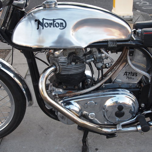 1968 Norton Atlas 750 Cafe Racer. SOLD SOLD (picture 5 of 6)