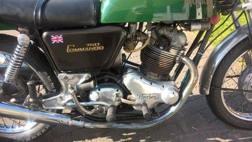 norton commando fast back 1971 For Sale (picture 2 of 6)
