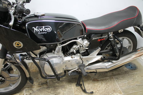 1988 Norton Rotary Interpol  Superbly presented Custom Style SOLD (picture 5 of 6)