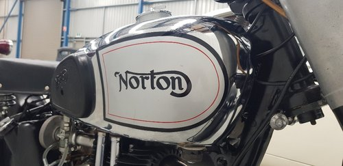 1949 Norton ES2 500cc Motorcycle by Firma Trading Classic Mo For Sale (picture 5 of 6)