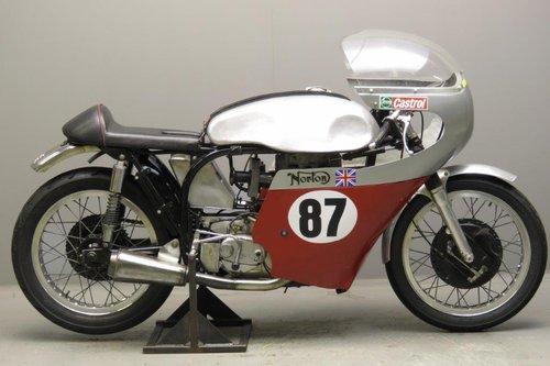 1956 Bob Gedge Norton ES2 racer SOLD (picture 1 of 6)