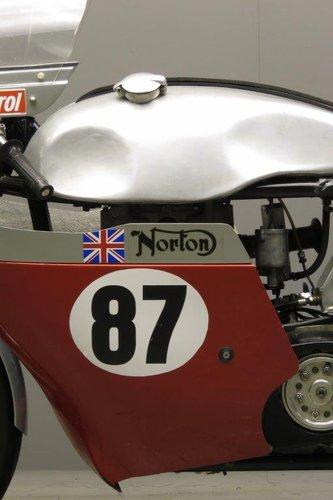 1956 Bob Gedge Norton ES2 racer SOLD (picture 3 of 6)