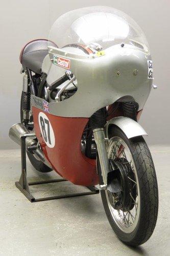 1956 Bob Gedge Norton ES2 racer SOLD (picture 4 of 6)