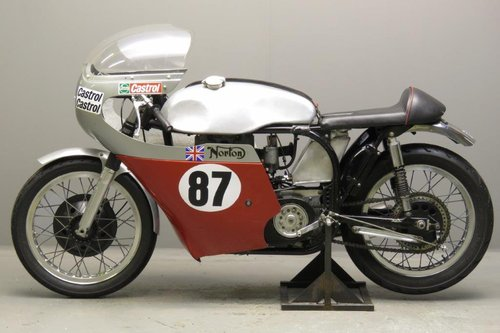 1956 Bob Gedge Norton ES2 racer SOLD (picture 6 of 6)