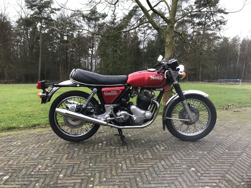 Norton Commando MK3 1975 850cc electric start  For Sale (picture 1 of 6)
